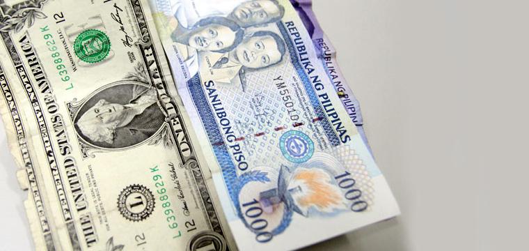 Philippine Peso Vs Us Dollar Main
