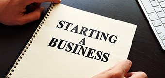 The First Real Step in Starting a Business
